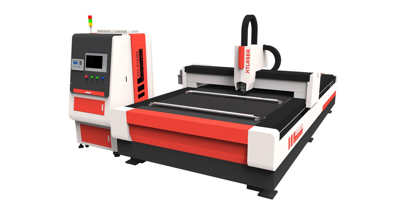 Экономичный волоконный станок лазерной резки XTC-F1530E