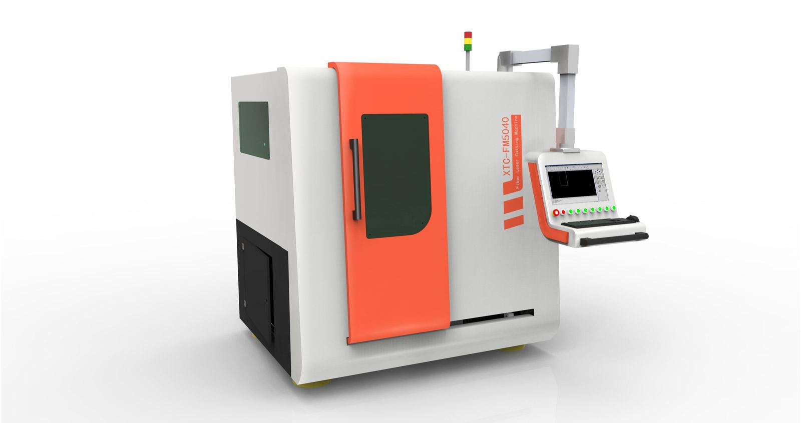 Полностью закрытый волоконый станок прецизионной лазерной резкиXTC-FM5040
