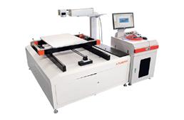 Широкоформатный волоконный лазерный маркер
