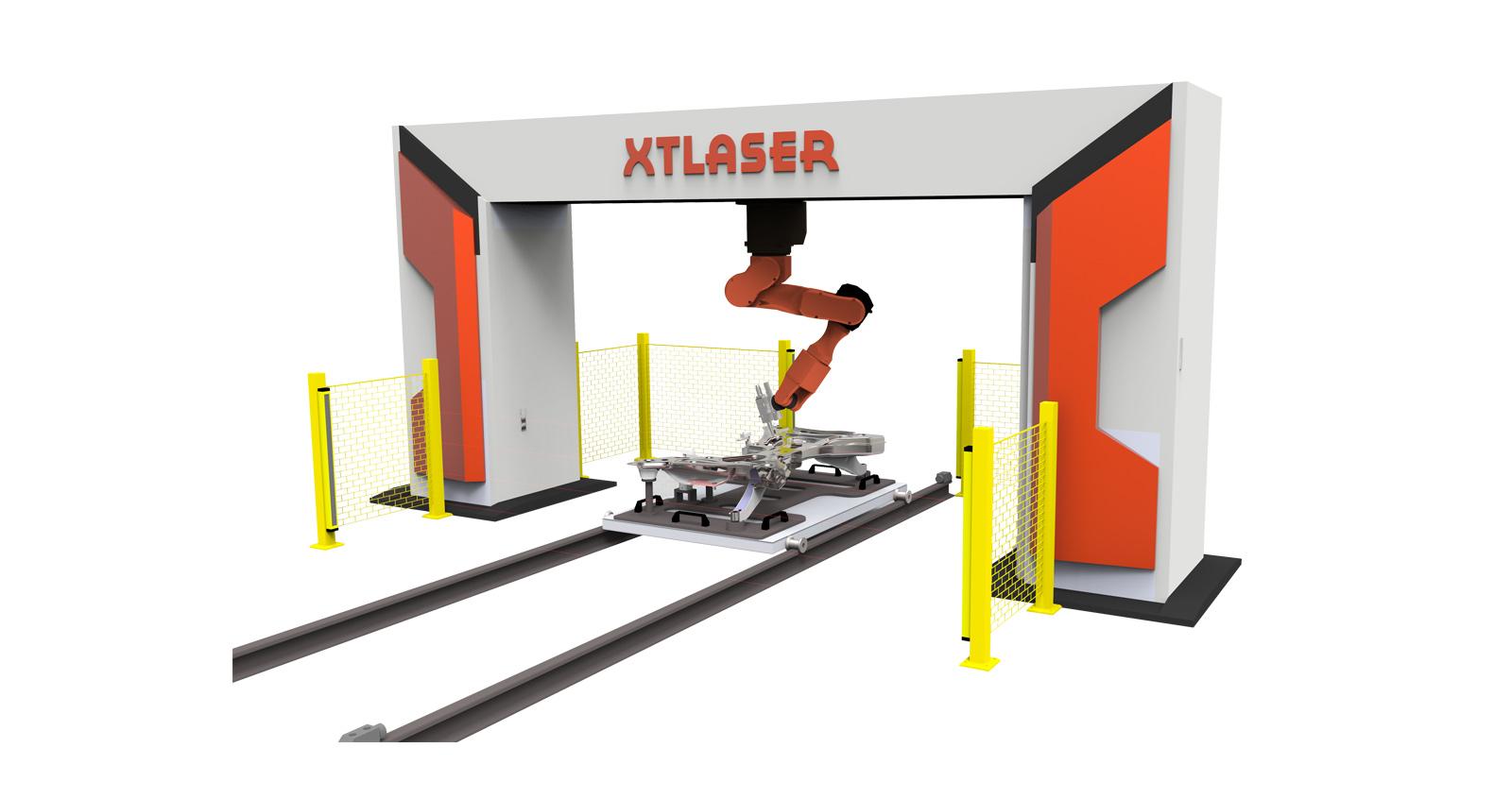 Волоконный 3D робот-станок для лазерной резки XTC-FR14/18/20