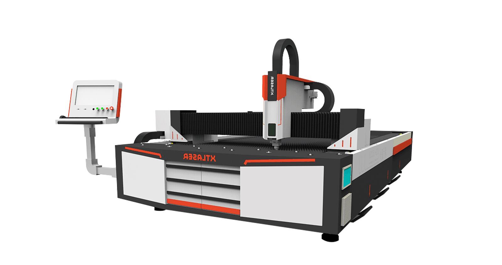 Волоконный лазерный станок для резки труб и пластин со сменным столом XTC-FET1530-60016
